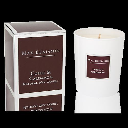 Max Benjamin Duftkerze Coffee & Cardamom