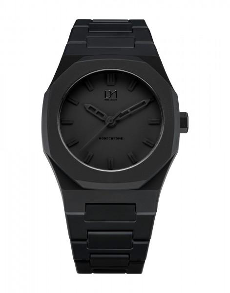 D1 Milano Monochrome Black Armbanduhr