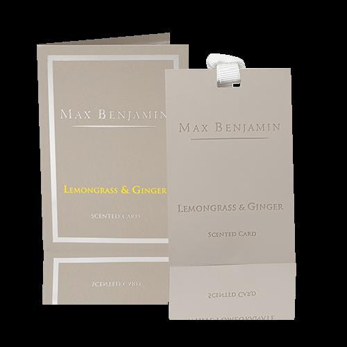Max Benjamin Duftkarte Lemongrass & Ginger