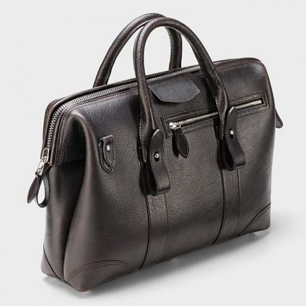 Daybag Arzttasche Bisonleder