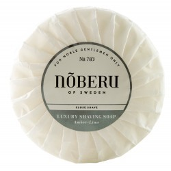 Noberu Shaving Soap Amber-Lime