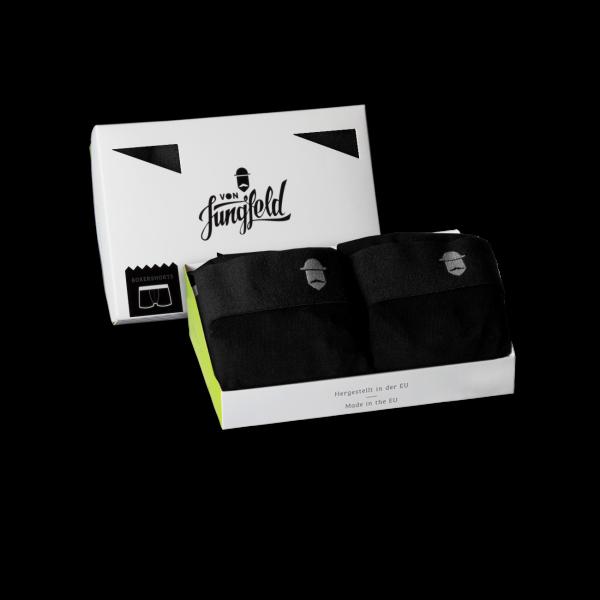 von Jungfeld Socken 2ER BOX: + Boxershorts SVALBARD