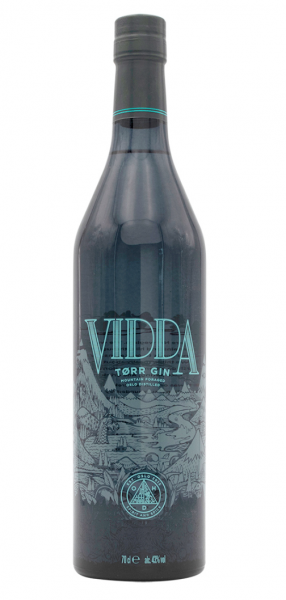 Vidda Tørr Norwegian Dry Gin, 43%, 700 ml