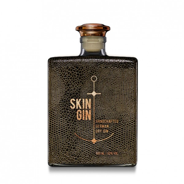 Skin Gin `Reptil Braun'