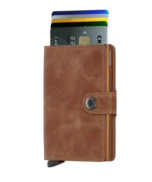 Secrid Miniwallet Vintage Cognac Rust 285922