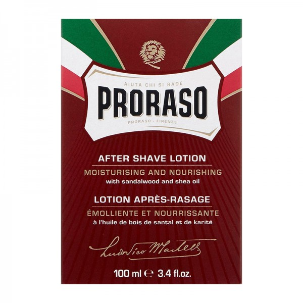 Proraso - After Shave Balsam - ROSSO