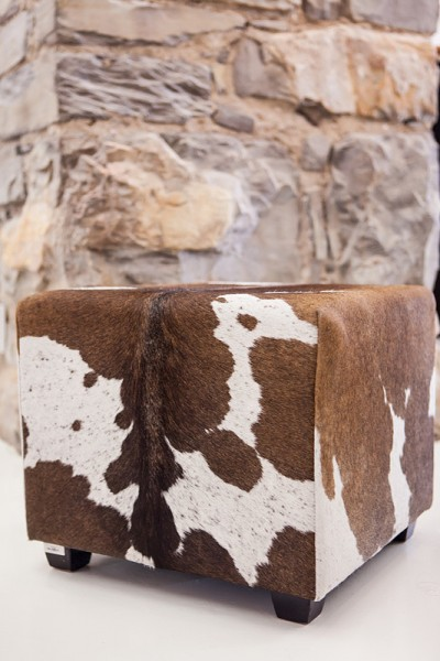 Sitzcube Nguni brown & white
