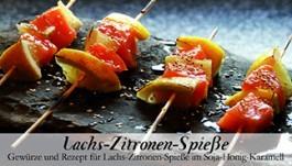 Feuer & Glas Lachs-Zitronen-Spieße Gewürz