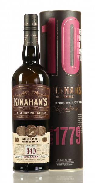 Kinahan´s 10 J. Single Malt Irish Whiskey