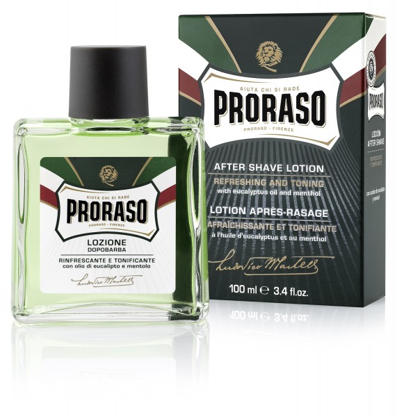 Proraso After Shave Lotion VERDE -grün
