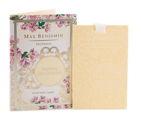 Max Benjamin Duftkarte Provence Citrons