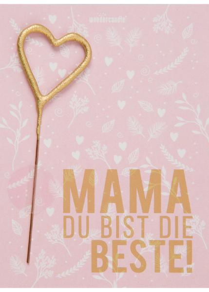Wonder Cake Karte Beste Mama
