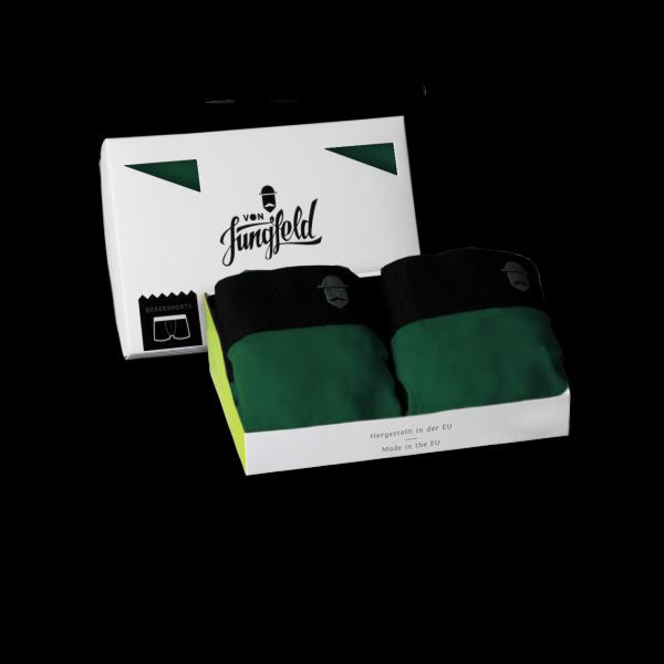 von Jungfeld Socken 2ER BOX: + Boxershorts SCHWARZWALD