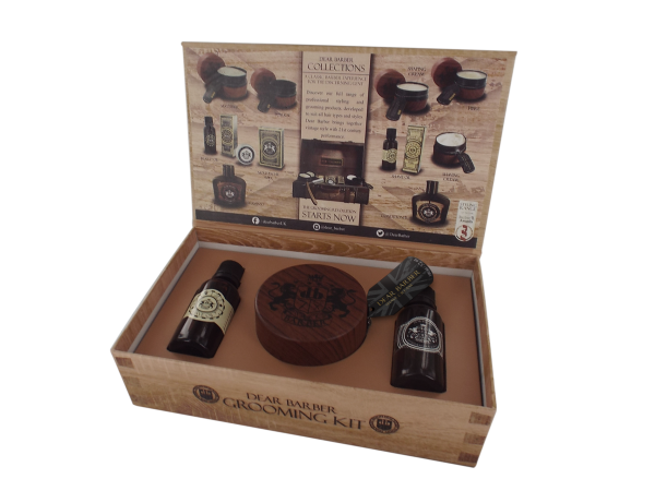 Dear Barber - Geschenkbox 4 Shave Care