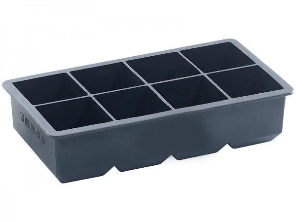 Eiswürfelform für 8 Eiswürfel 5x5x5 cm