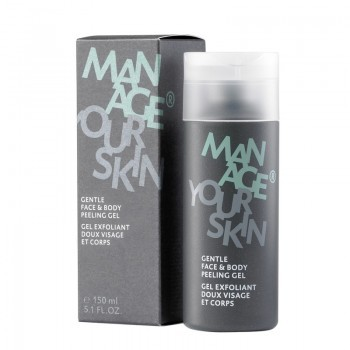 Dr. Spiller Man Age - Gentle Face & Body Peeling Gel