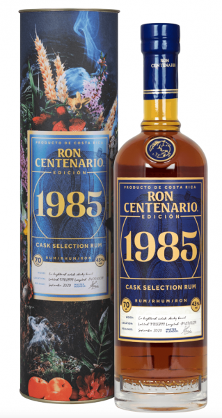 Centenario Rum 1985, 0,7l, 43%