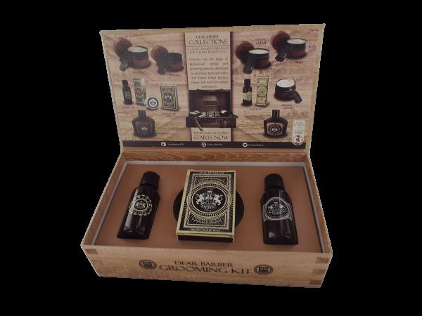 Dear Barber - Geschenkbox 2 - Groom & Go