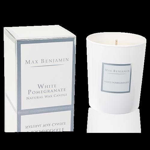 Max Benjamin Duftkerze White Pomegranate