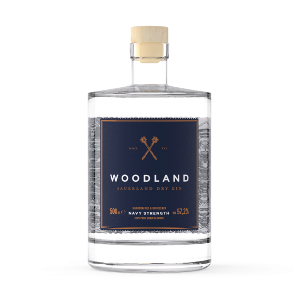 WOODLAND GIN NAVY STRENGTH