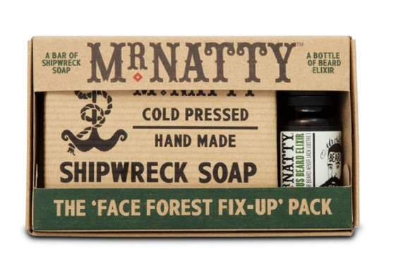 Mr Natty - Face Forest Fix Up Pack - 2-teilig