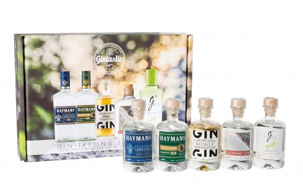 Gin Tasting Box, 200ml
