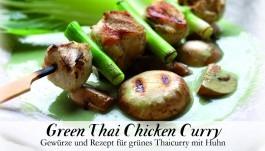 Gewürzkästchen Green Thai Chicken Curry