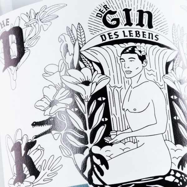 "THE DUKE Gin – Kunstedition – ""Gin des Lebens Edition"""