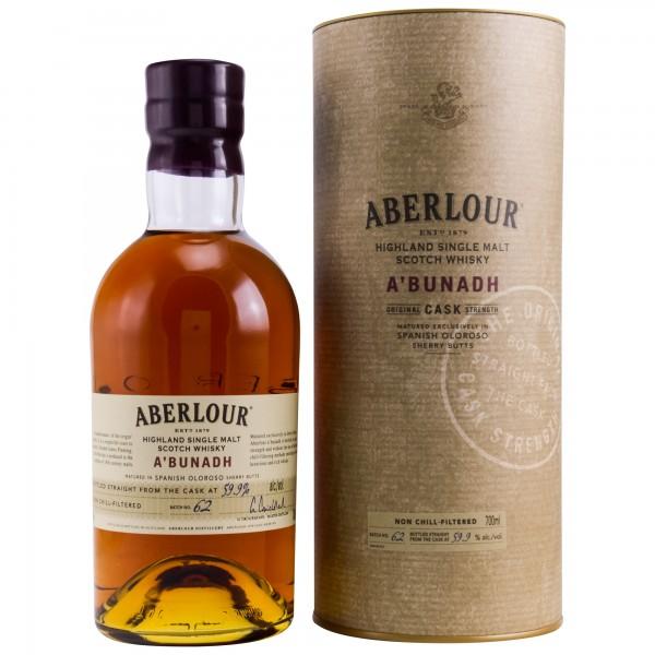 Aberlour a'bunadh Batch 62 Whiskey