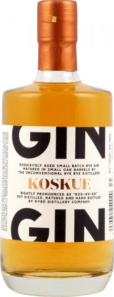 Koskue Cask Aged Rye Gin 42,6%