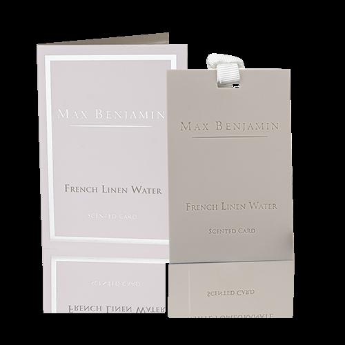 Max Benjamin Duftkarte French Linen Water