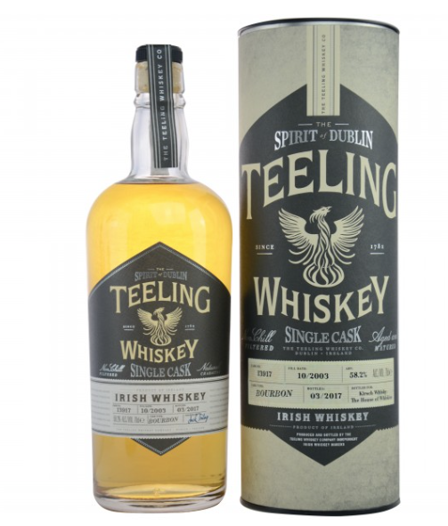 Teeling 2003/2017 Single Bourbon Cask 13917 (Irland)