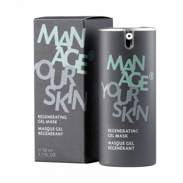 Dr. Spiller Man Age - Regenerating Gel Mask
