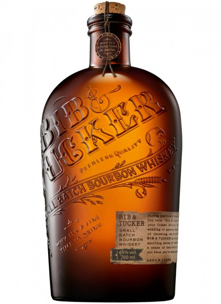 Bib & Trucker Small Batch Bourbon Whiskey 46% 0,7L