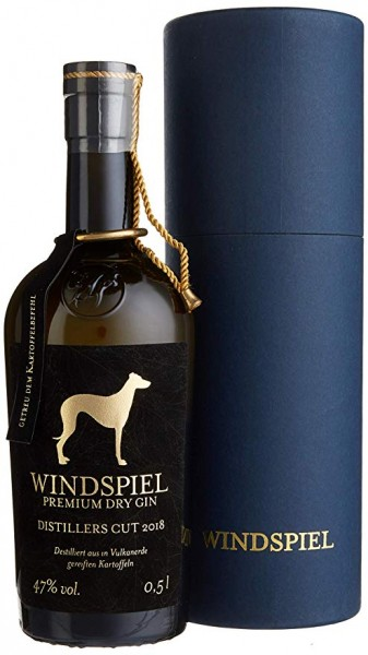 WINDSPIEL PREMIUM DRY GIN DISTILLERS CUT 2018 47% VOL. 0,5L