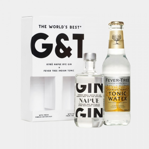 G&T SET NAPUE GIN UND FEVERTREE INDIAN TONIC